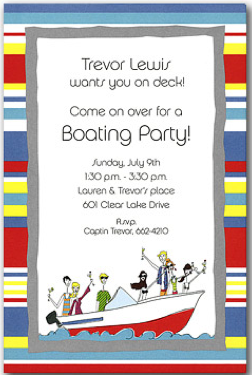 Boating Invite